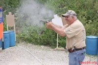 yes - practical pistol shooting is fun for the older guys too!