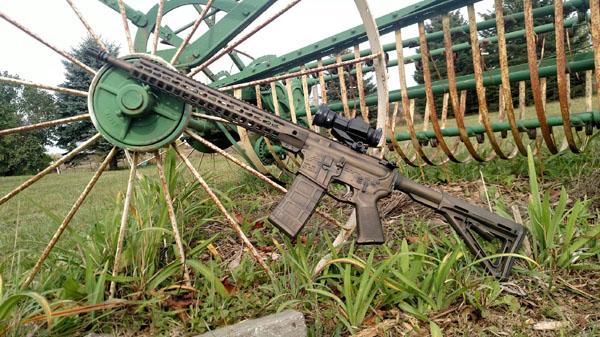 Pat Morris AR-15